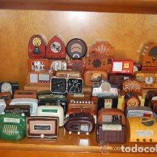 Radios antiguas: COLECCIÓN COMPLETA RADIO ANTIGUA ANTAÑO. CARACTERÍSTICAS TÉCNICAS E HISTORIA DE LA RADIO.. Lote 143354258