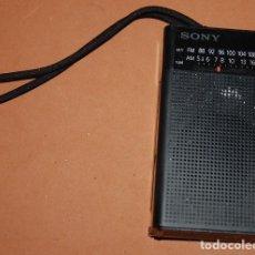 Radios antiguas: RADIO TRANSISTOR DE BOLSILLO SONY-02. Lote 143659094