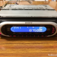 Radios antiguas: RADIO DE COCHE CON CD DIGITAL SONY, CDX MP40.. Lote 143852310
