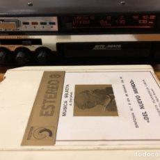 Radios antiguas: RADIO CASSETTE DE COCHE CON 8 PISTAS IC AUTO SONIC STEREO RK601A, COLECCIONISTA.. Lote 143852590
