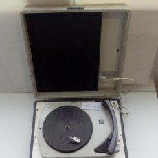 Radios antiguas: MALETA PICK UP,TOCADISCOS BETTOR MARK-3-PLATO DUAL 300.4 VELOCIDADES. Lote 143900506