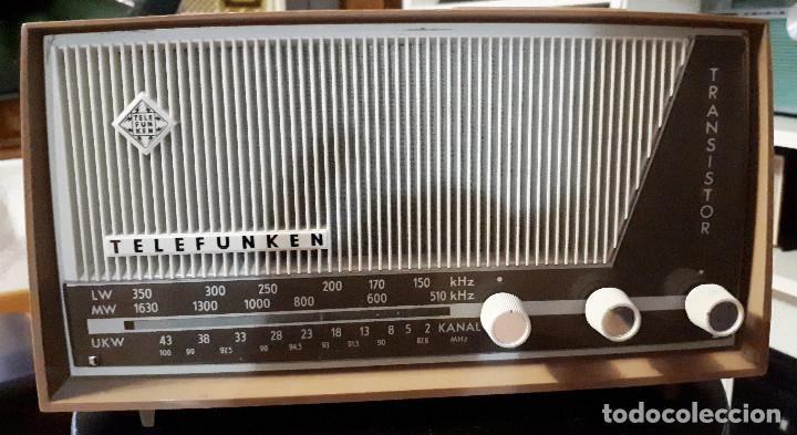 RADIO TRANSISTOR TELEFUNKEN CAPRICE TL 329 AM/FM FUNCIONANDO CORRECTAMENTE (Radios, Gramófonos, Grabadoras y Otros - Transistores, Pick-ups y Otros)