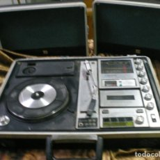 Radios antiguas: RADIO TOCADISCOS Y CASSETE PORTATIL MALETIN. Lote 143932706