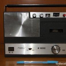 Radios antiguas: RADIO CASSETTE BETTOR MK 2R,VER VÍDEO, VINTAGE.. Lote 143947660