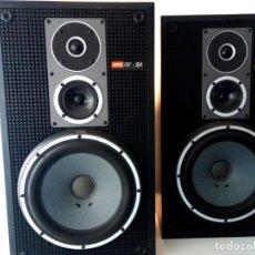 Radios antiguas: SONY SS-G1 II / PAREJA DE ALTAVOCES / AÑO 1978 / CAJAS DE MADERA / MAGNIFICO ESTADO. Lote 144311454