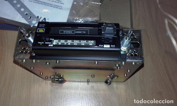 Radios antiguas: Radiocassette de coche estéreo Aiwa CTR-2020E, años 70. Totalmente nuevo, a estrenar, completo. - Foto 9 - 144393162