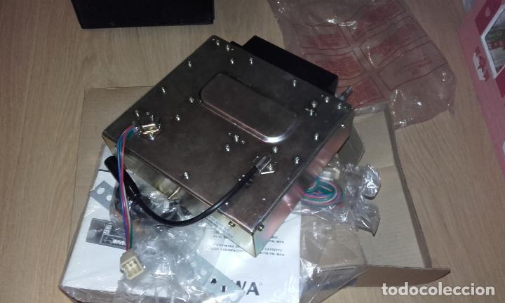 Radios antiguas: Radiocassette de coche estéreo Aiwa CTR-2020E, años 70. Totalmente nuevo, a estrenar, completo. - Foto 10 - 144393162