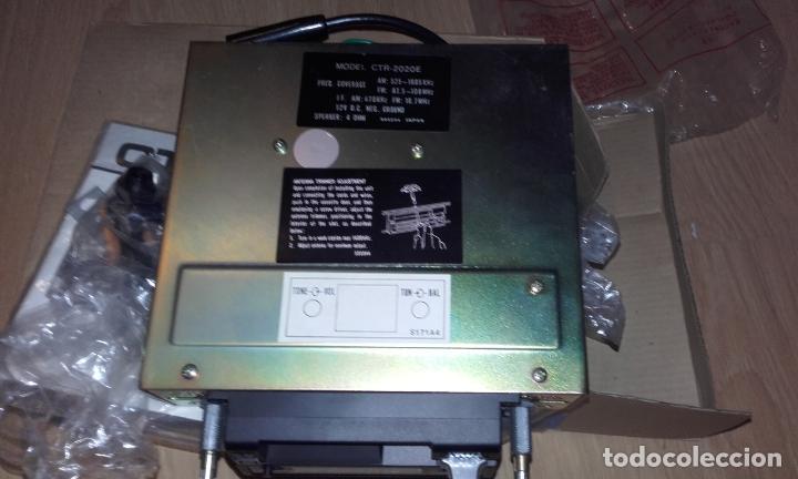 Radios antiguas: Radiocassette de coche estéreo Aiwa CTR-2020E, años 70. Totalmente nuevo, a estrenar, completo. - Foto 11 - 144393162