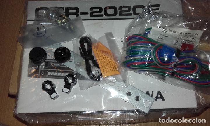 Radios antiguas: Radiocassette de coche estéreo Aiwa CTR-2020E, años 70. Totalmente nuevo, a estrenar, completo. - Foto 14 - 144393162