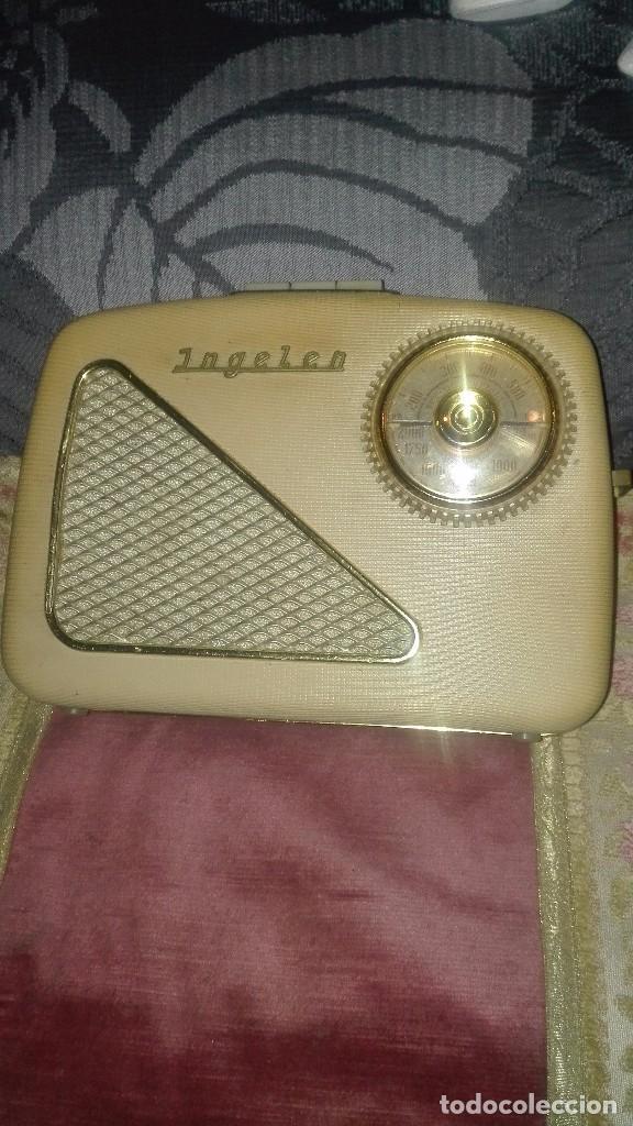 RADIO ALEMANA INGELEN TRV-110.AÑO 1958 (Radios, Gramófonos, Grabadoras y Otros - Transistores, Pick-ups y Otros)