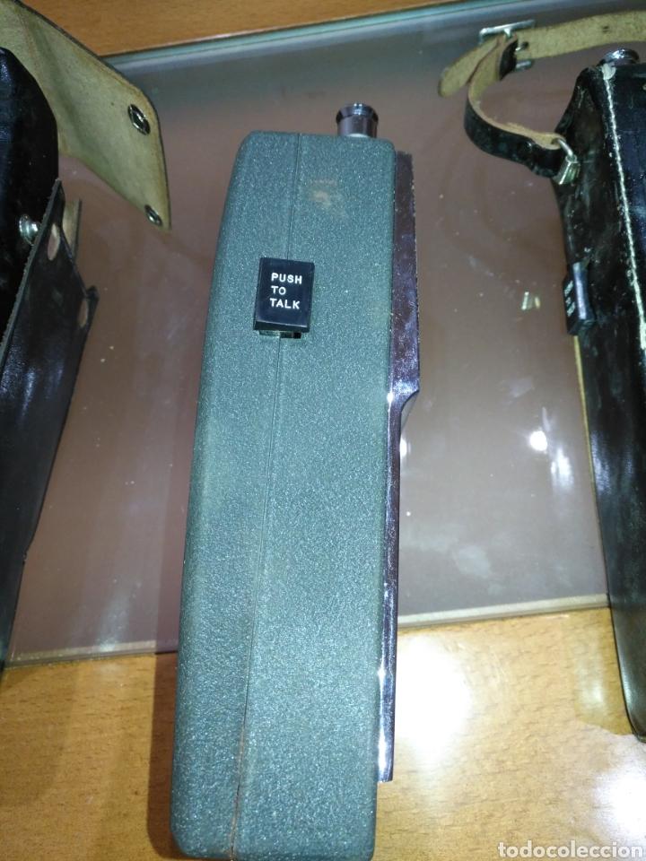 Radios antiguas: walkie talkie 1966 Fantavox 10 transistor, policial, Policía, militar. Japan. - Foto 4 - 144788120