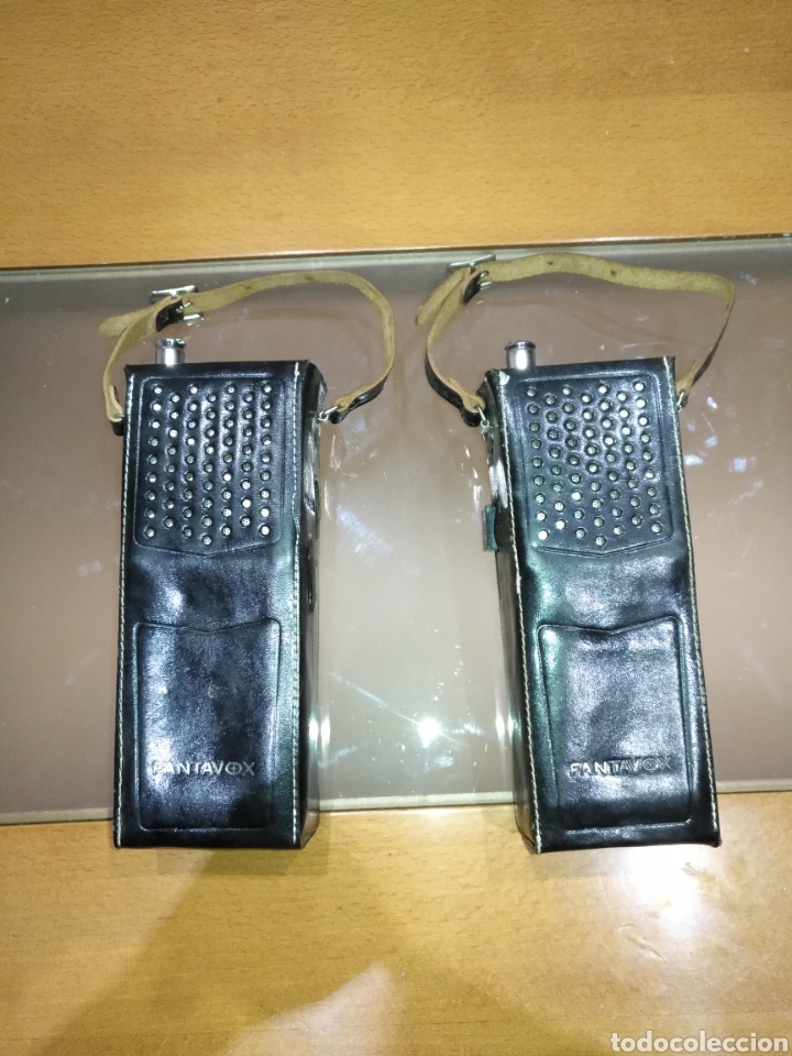 Radios antiguas: walkie talkie 1966 Fantavox 10 transistor, policial, Policía, militar. Japan. - Foto 7 - 144788120
