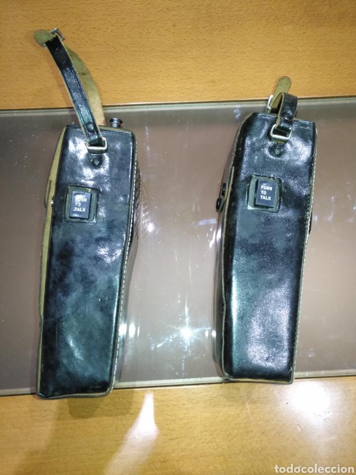Radios antiguas: walkie talkie 1966 Fantavox 10 transistor, policial, Policía, militar. Japan. - Foto 10 - 144788120