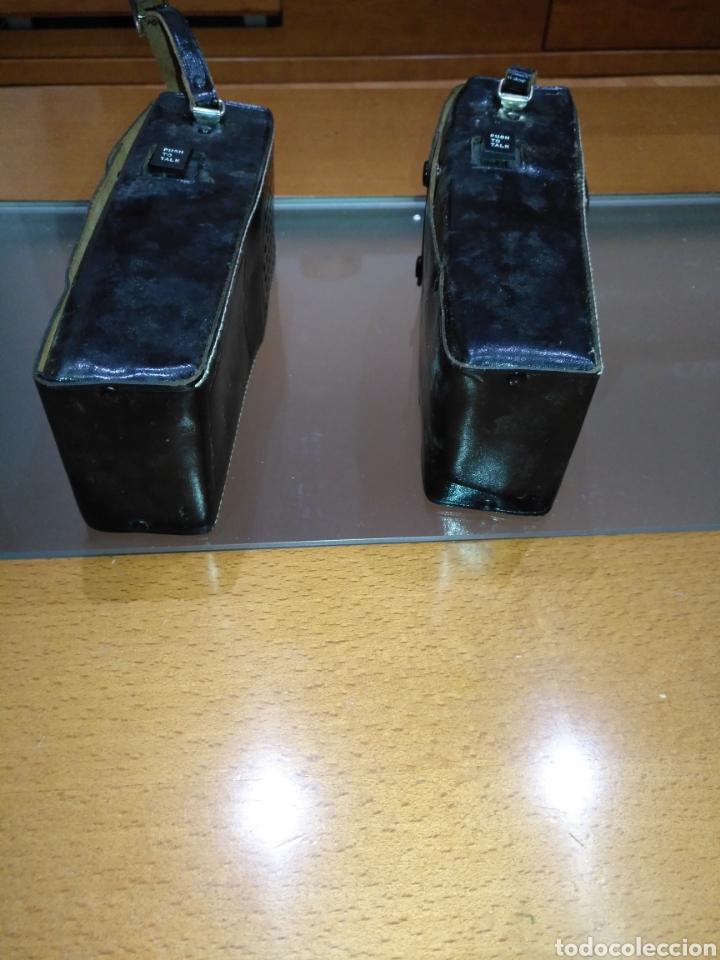 Radios antiguas: walkie talkie 1966 Fantavox 10 transistor, policial, Policía, militar. Japan. - Foto 11 - 144788120