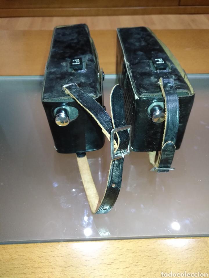 Radios antiguas: walkie talkie 1966 Fantavox 10 transistor, policial, Policía, militar. Japan. - Foto 12 - 144788120