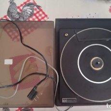 Radios antiguas: TOCADISCOS VIETA UNO -BSR MCDONALD 610 -FUNCIONA,. Lote 145191290