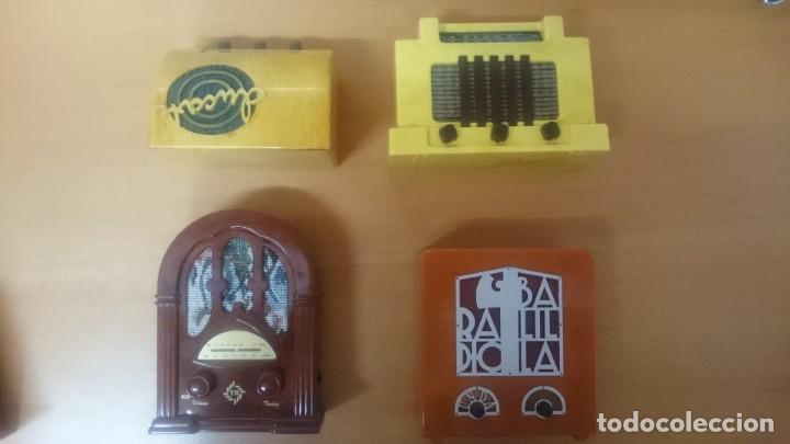 Radios antiguas: ESPECTACULAR LOTE DE 37 RADIOS EN MINIATURA. RADIOS DE ANTAÑO. TODOS LOS FASCÍCULOS. - Foto 6 - 145261782