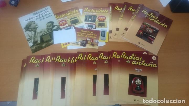 Radios antiguas: ESPECTACULAR LOTE DE 37 RADIOS EN MINIATURA. RADIOS DE ANTAÑO. TODOS LOS FASCÍCULOS. - Foto 13 - 145261782