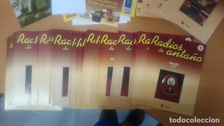 Radios antiguas: ESPECTACULAR LOTE DE 37 RADIOS EN MINIATURA. RADIOS DE ANTAÑO. TODOS LOS FASCÍCULOS. - Foto 15 - 145261782