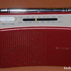 Radios antiguas: RADIO TRANSISTOR DE BOLSILLO SONY-03. Lote 145272382