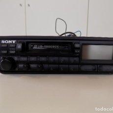 Radio antiche: RADIO CASSETTE DE COCHE STEREO SONY XR-5800RDS. ORIGINAL AÑOS 80! NUEVO, A ESTRENAR. Lote 145272882
