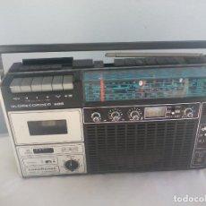 Radios antiguas: ANTIGUO RADIO CASSETTE GLOBECORDER 686. NORDMENDE MADE IN GERMANY. Lote 145341858