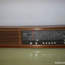 Radios antiguas: RADIO SABA-INDAU MOD. LI-G. Lote 145655502