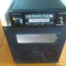 Radios antiguas: RADIO CASSETTE DE COCHE SANYO . Lote 145763050