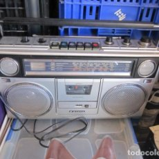 Radios antiguas: ANTIGUA RADIO TRANSISTOR BOOMBOX CASSETTE SANYO M 9940 K -FUNCIONANDO MEDIDA 44 X 28 X 11. Lote 153497154
