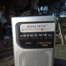 Radios antiguas: RADIO KOOLTECH AM/FM. Lote 146059866