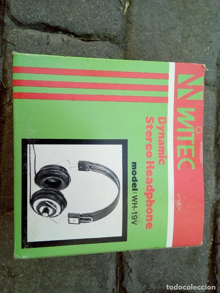 Old radios: AURICULARES WITEC MODEL:WH-19V - Foto 3 - 148029896