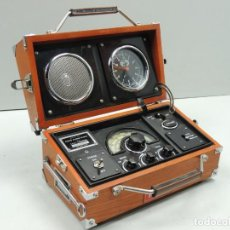 Radios antiguas: SPIRIT OF ST LOUIS.- RADIO, RELOJ Y ALARMA.. Lote 146111866
