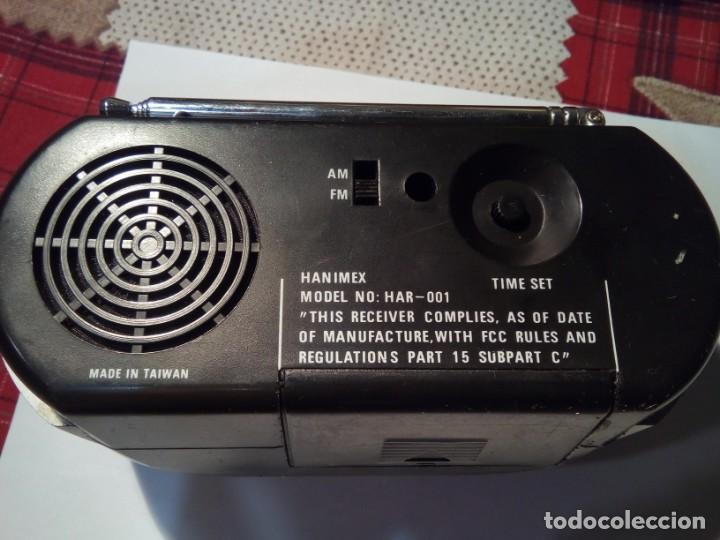 Radios antiguas: RADIO RELOJ HANIMEX - Foto 4 - 146120890