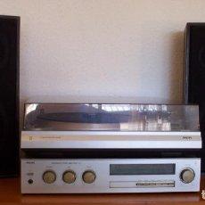 Radios antiguas: AMPLIFICADOR - PLATO DE DISCOS - ALTAVOCES - MARCA PHILIPS - AÑOS 80. Lote 146151898