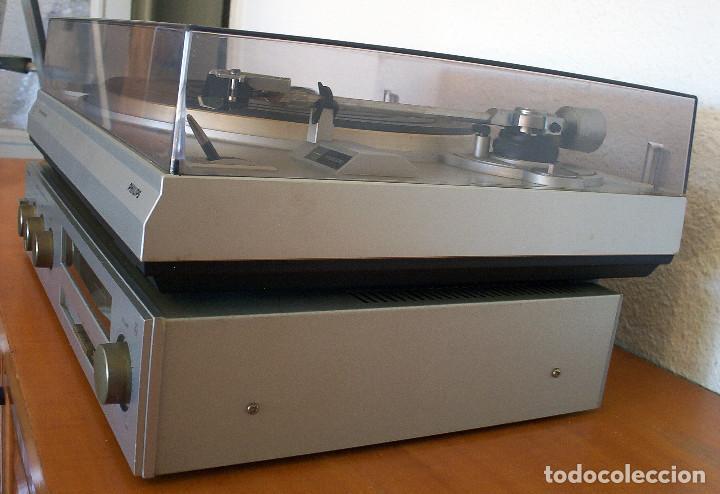 Radios antiguas: AMPLIFICADOR - PLATO DE DISCOS - ALTAVOCES - MARCA PHILIPS - AÑOS 80 - PROSPECTOS ORIGINALES - Foto 13 - 146151898