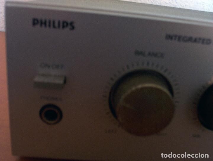 Radios antiguas: AMPLIFICADOR - PLATO DE DISCOS - ALTAVOCES - MARCA PHILIPS - AÑOS 80 - PROSPECTOS ORIGINALES - Foto 20 - 146151898