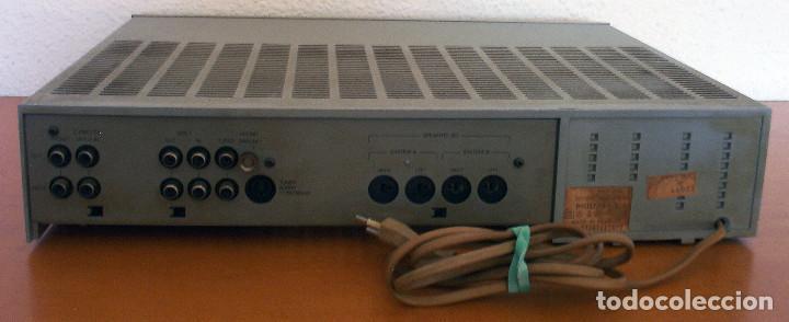 Radios antiguas: AMPLIFICADOR - PLATO DE DISCOS - ALTAVOCES - MARCA PHILIPS - AÑOS 80 - PROSPECTOS ORIGINALES - Foto 28 - 146151898
