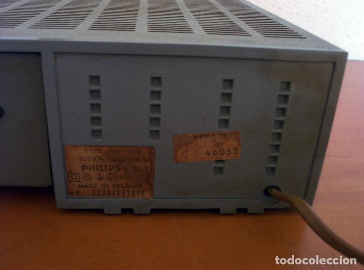 Radios antiguas: AMPLIFICADOR - PLATO DE DISCOS - ALTAVOCES - MARCA PHILIPS - AÑOS 80 - PROSPECTOS ORIGINALES - Foto 30 - 146151898