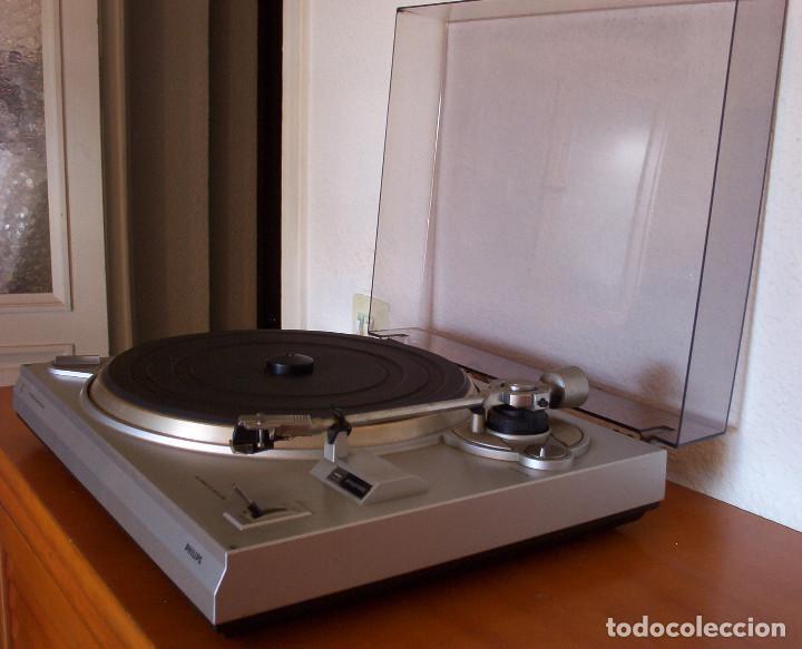 Radios antiguas: AMPLIFICADOR - PLATO DE DISCOS - ALTAVOCES - MARCA PHILIPS - AÑOS 80 - PROSPECTOS ORIGINALES - Foto 52 - 146151898