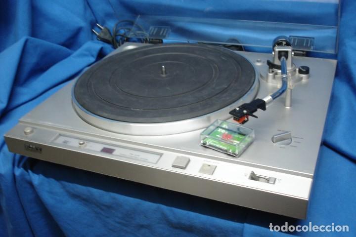 TOCADISCOS SONY PS-X35 REVISADO Y GARANTIZADO CON AGUJA NUEVA PRECINTADA (Radios, Gramófonos, Grabadoras y Otros - Transistores, Pick-ups y Otros)