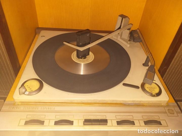 Radios antiguas: Tocadiscos GENERAL ELECTRICA - Foto 7 - 146395522