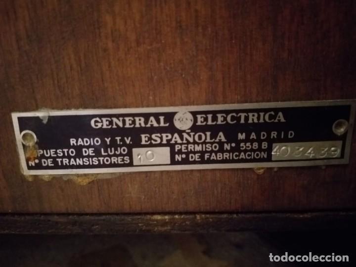 Radios antiguas: Tocadiscos GENERAL ELECTRICA - Foto 10 - 146395522