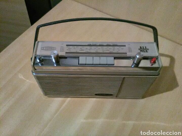 Radios antiguas: Radio Optalix , Transistores. - Foto 2 - 146555010