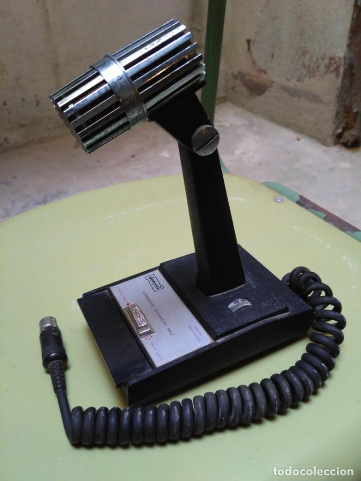 MICRÓFONO DENSEI (Radios, Gramófonos, Grabadoras y Otros - Transistores, Pick-ups y Otros)