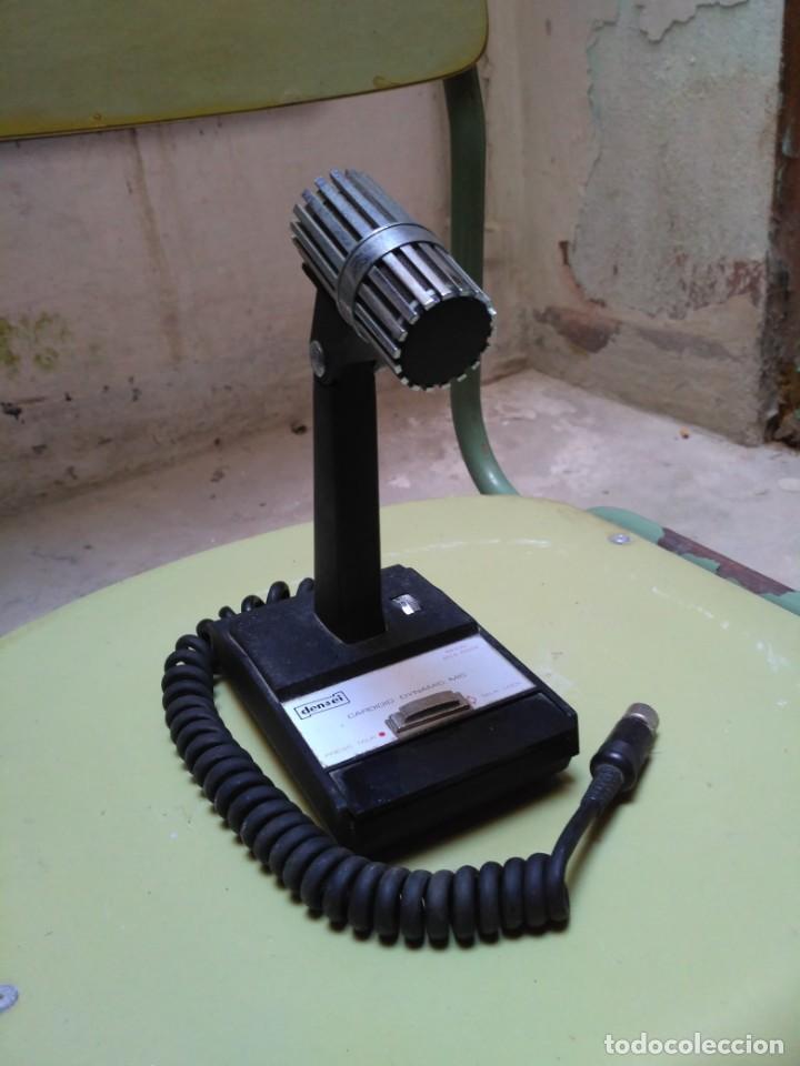 Radios antiguas: Micrófono Densei - Foto 2 - 146593938
