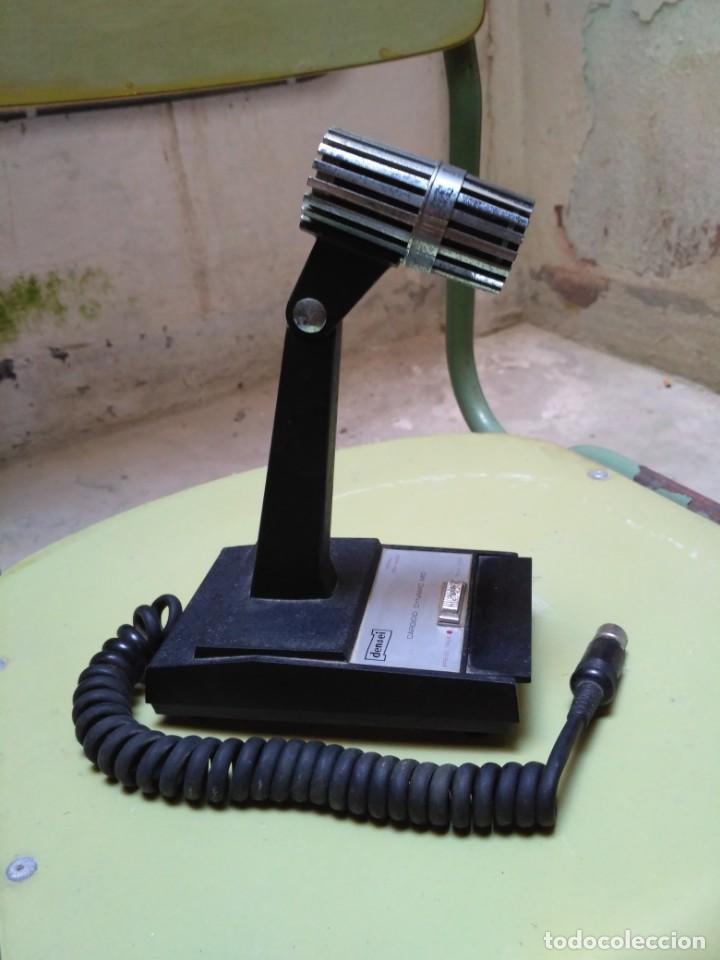 Radios antiguas: Micrófono Densei - Foto 3 - 146593938