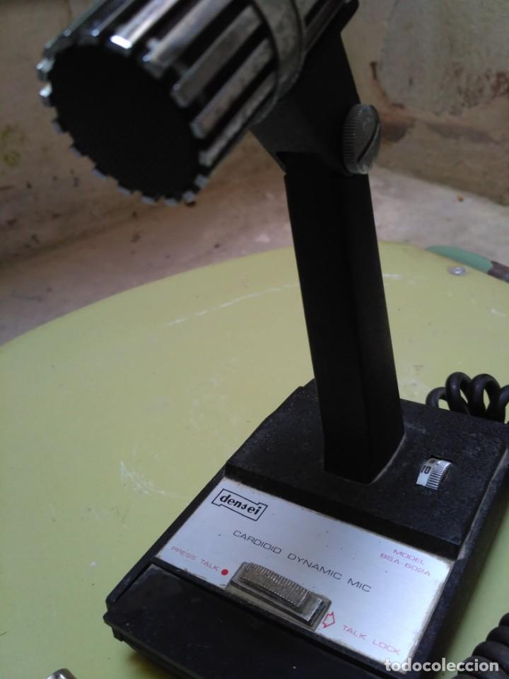 Radios antiguas: Micrófono Densei - Foto 4 - 146593938