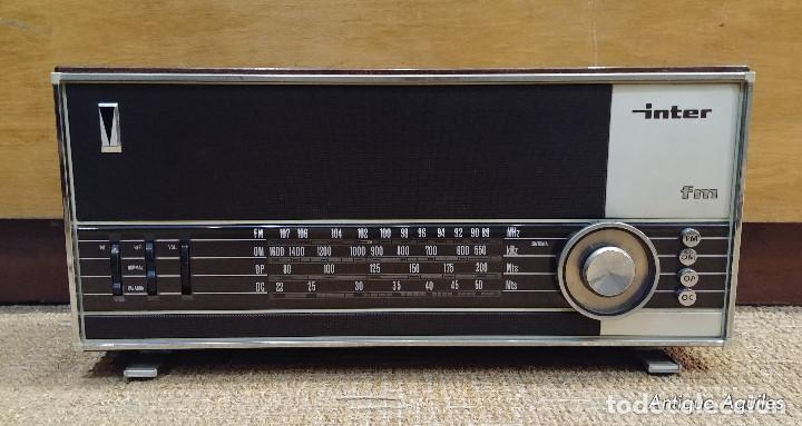 RADIO INTER FM (Radios, Gramófonos, Grabadoras y Otros - Transistores, Pick-ups y Otros)
