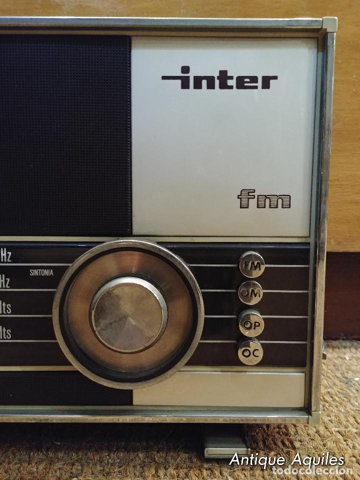 Radios antiguas: RADIO INTER FM - Foto 2 - 146625798