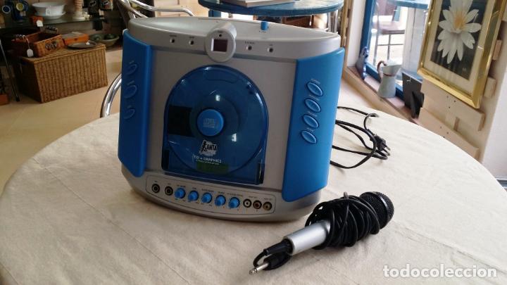 Radios antiguas: REPRODUCTOR DE CD - KARAOKE CON MICRÓFONO - Foto 11 - 146656866